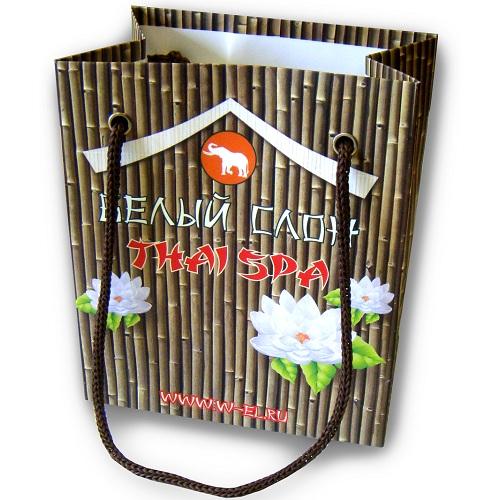 Производство бумажных пакетов без логотипа