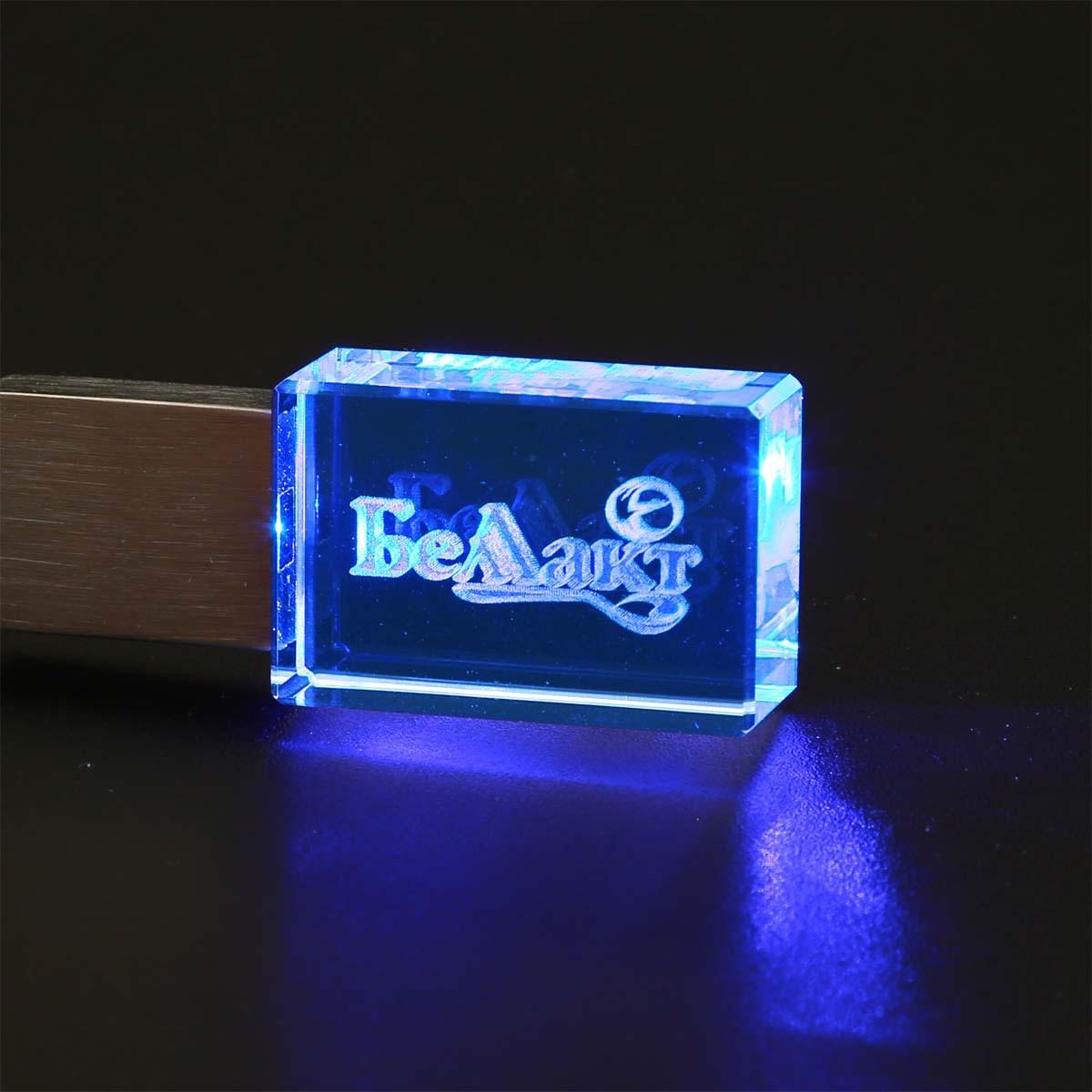 Флешка с подсветкой105
