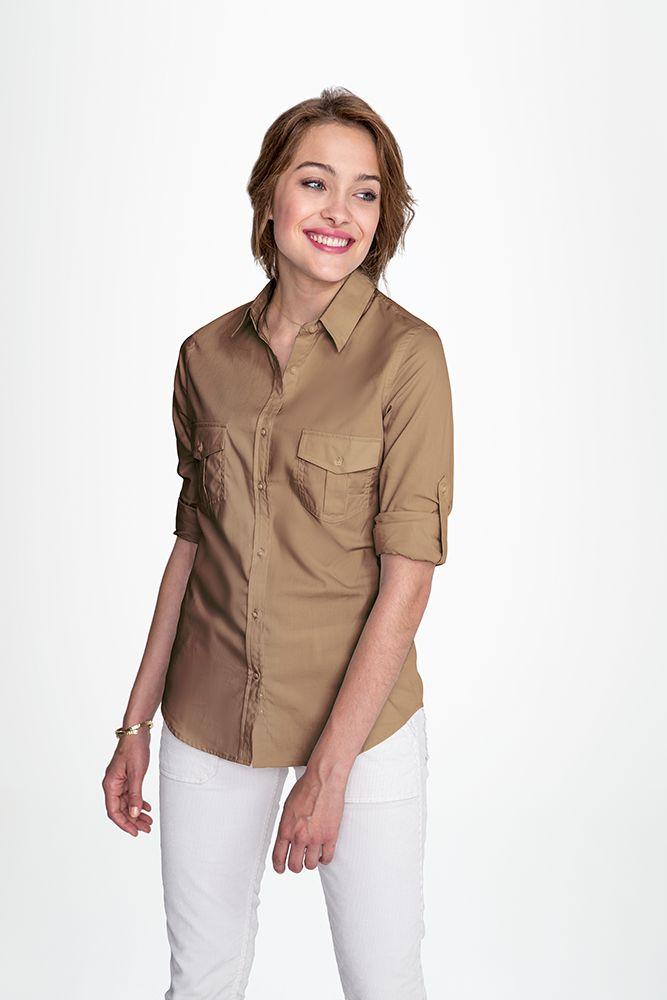 acc1b6ee4c41 Рубашка женская BURMA WOMEN | Офисные рубашки с фирменным логотипом