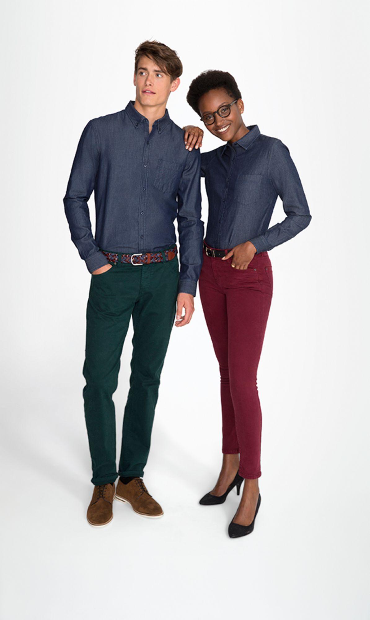 e459a1631208 Рубашка женская BARRY WOMEN | Офисные рубашки с фирменным логотипом